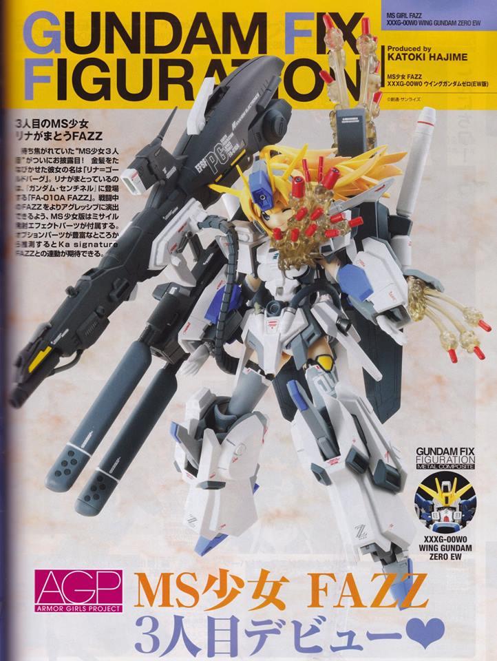 Gundam Fix Figuration AGP (Armor Girls Project) - Page 3 19261110