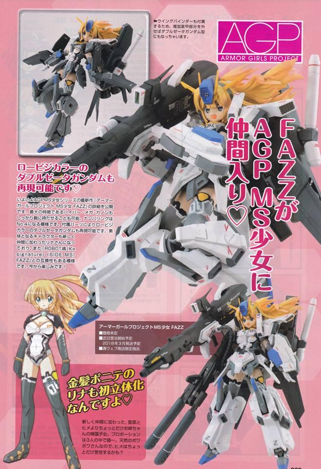 Gundam Fix Figuration AGP (Armor Girls Project) - Page 3 19514010