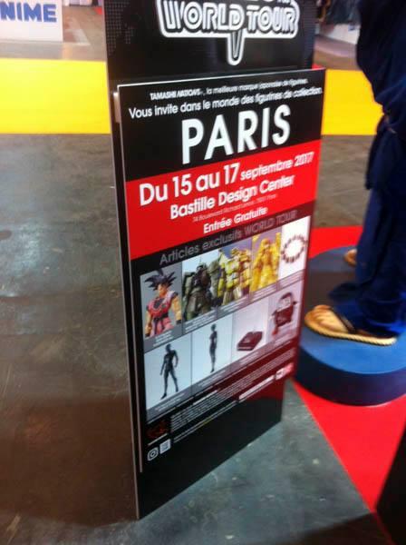 Tamashii World Tour Paris  - Bastille Design Center (15 au 17 Septembre 2017) 19657410