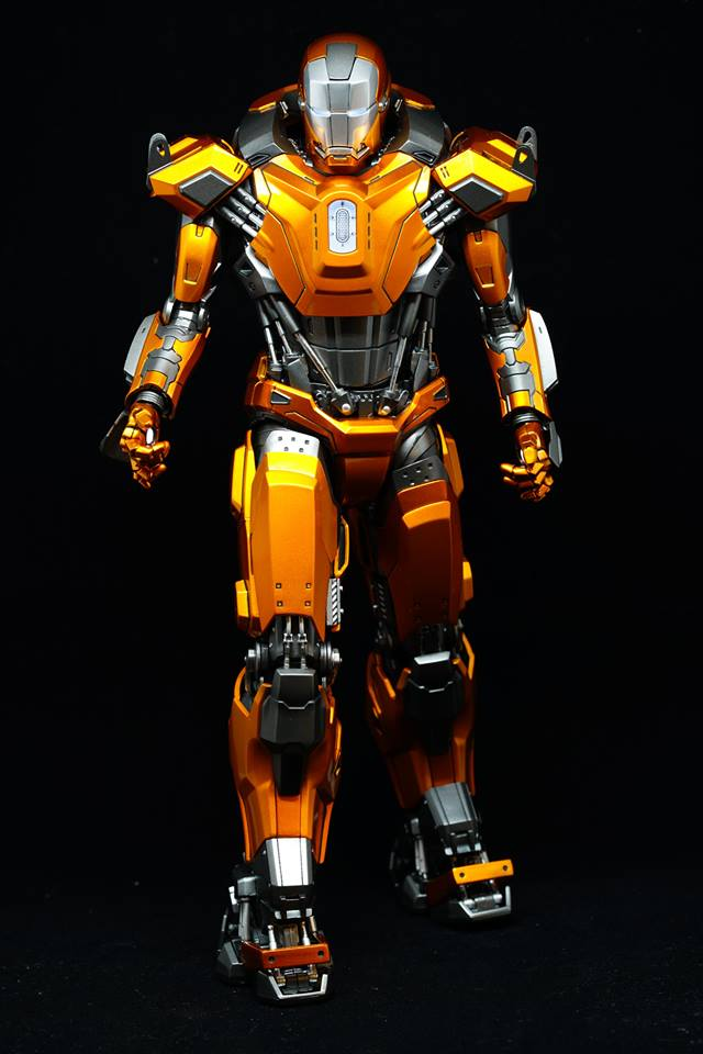 Iron Man 3 - Mark XXXVI/Mark 36 : Peacemaker 1/9 Diecast (King Arts) 20953111