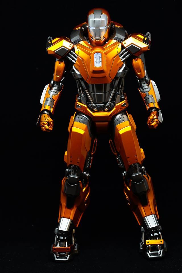 Iron Man 3 - Mark XXXVI/Mark 36 : Peacemaker 1/9 Diecast (King Arts) 20953311
