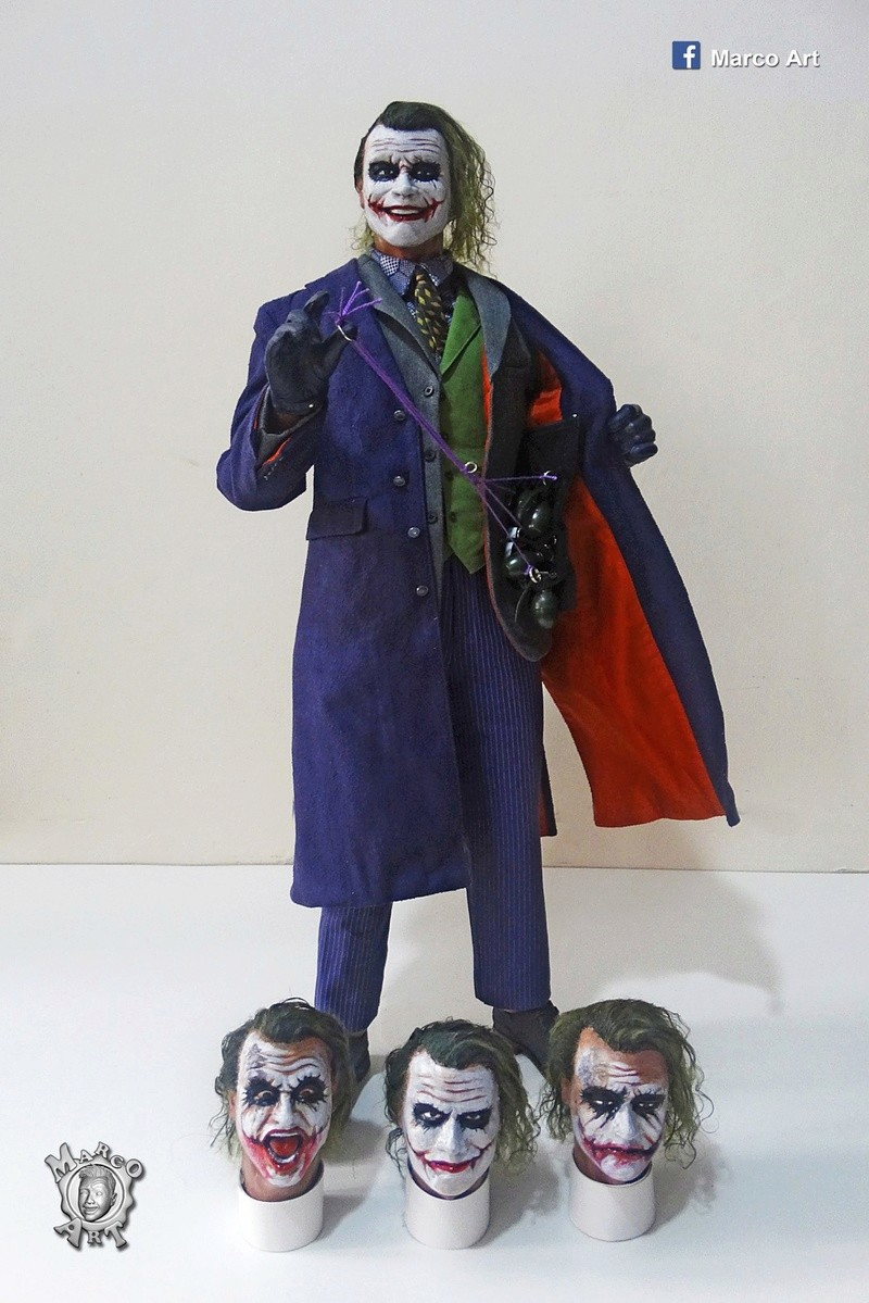 Batman / Joker - The Dark Night 1/4 (Hot Toys) 21272810
