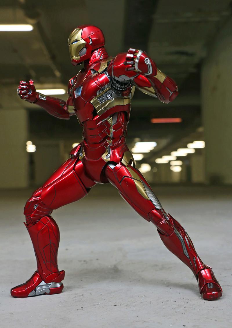 Iron Man Mark XLVI (46) 1/6 - Captain America : Civil War (Hot Toys) 21273310
