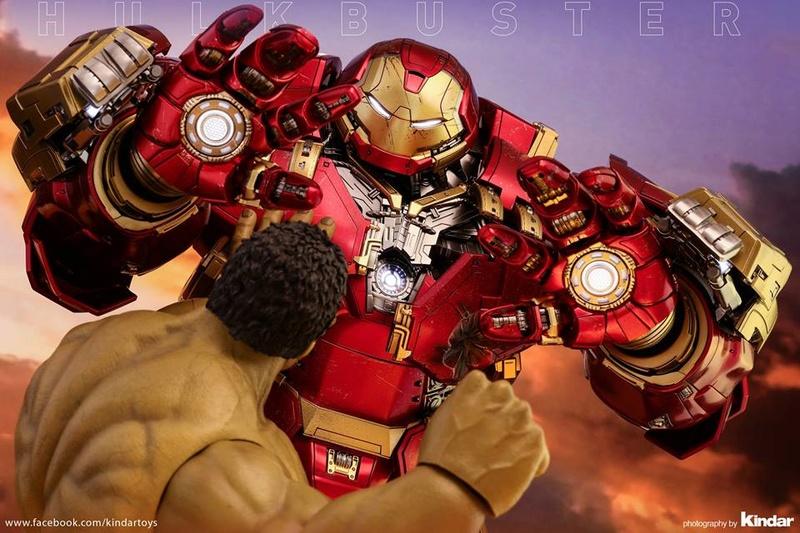 Avengers Age of Ultron - HulkBuster JackHammer Mark 44 1/6 (Hot Toys) 21764711