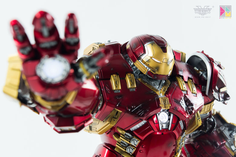 Avengers Age of Ultron - HulkBuster JackHammer Mark 44 - 1/9 Diecast (King Arts) 22441310