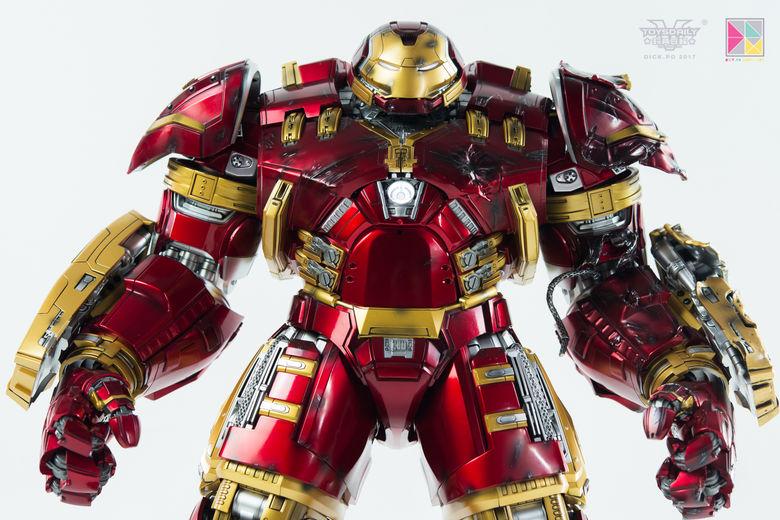 Avengers Age of Ultron - HulkBuster JackHammer Mark 44 - 1/9 Diecast (King Arts) 22442310
