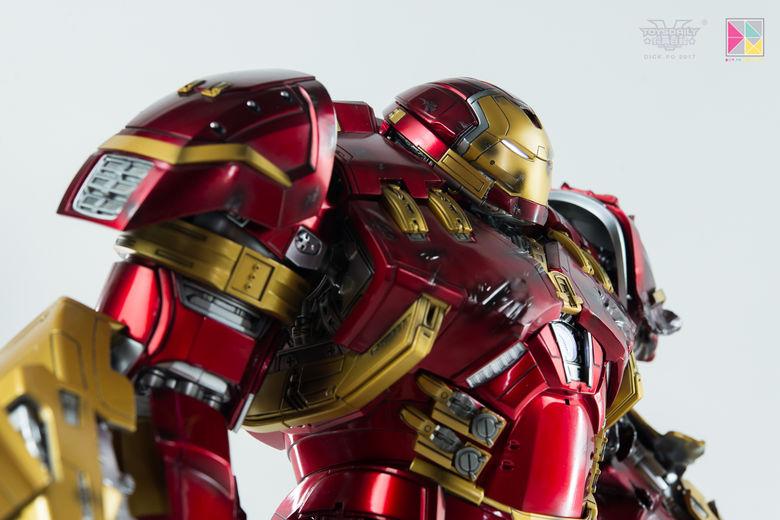 Avengers Age of Ultron - HulkBuster JackHammer Mark 44 - 1/9 Diecast (King Arts) 22450510