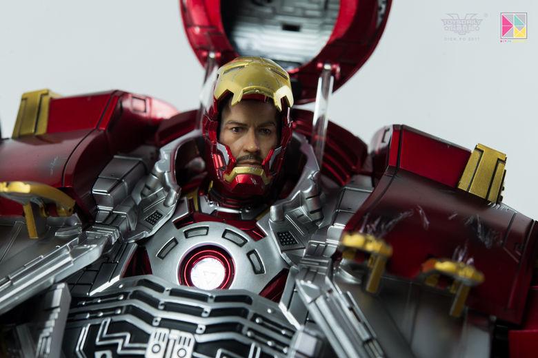 Avengers Age of Ultron - HulkBuster JackHammer Mark 44 - 1/9 Diecast (King Arts) 22453310