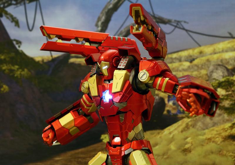 Modular Iron Man VS Modular War Machine 23290510