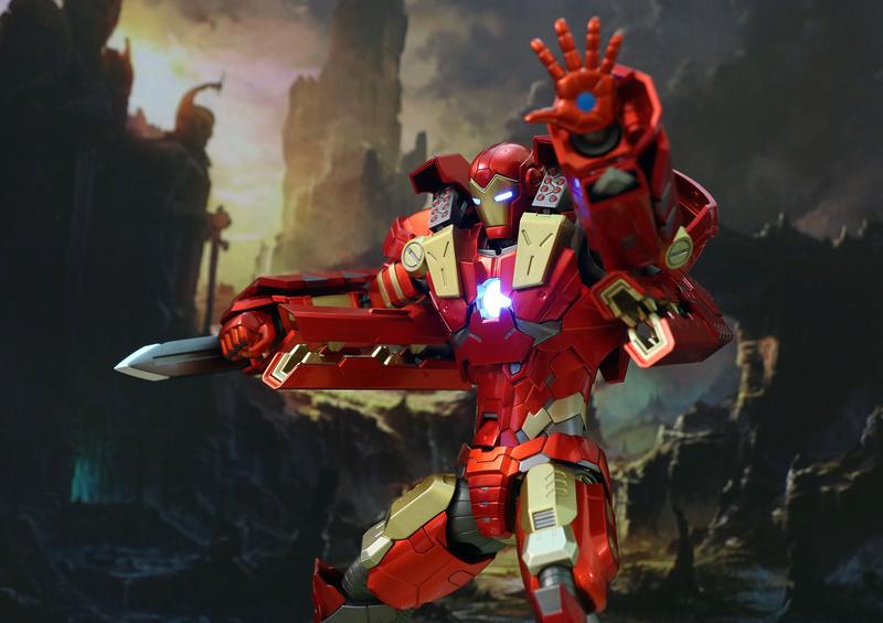 Modular Iron Man VS Modular War Machine 23290611