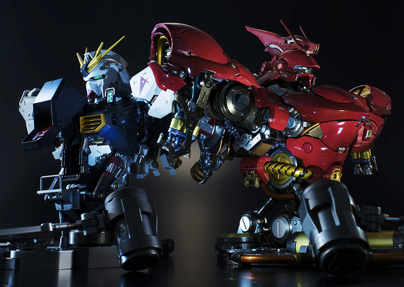 Nu Gundam Bust Display (Formania EX / Bandai) - Page 2 E02acf10