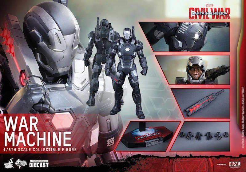Captain America Civil War : War Machine 1/6 (Hot Toys) Hot_to10