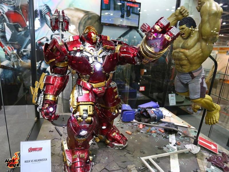 Avengers Age of Ultron - HulkBuster JackHammer Mark 44 1/6 (Hot Toys) Hulkbu11