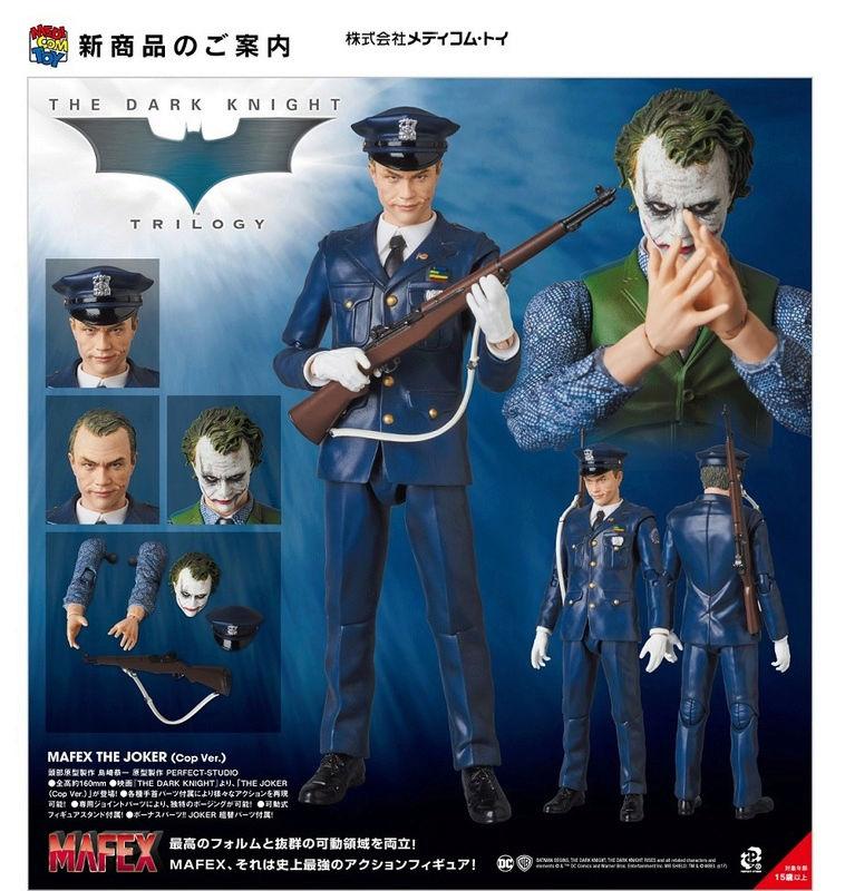 Batman The Dark Knight : Joker Ver.2.0 Mafex (Medicom Toys) Mafex-10