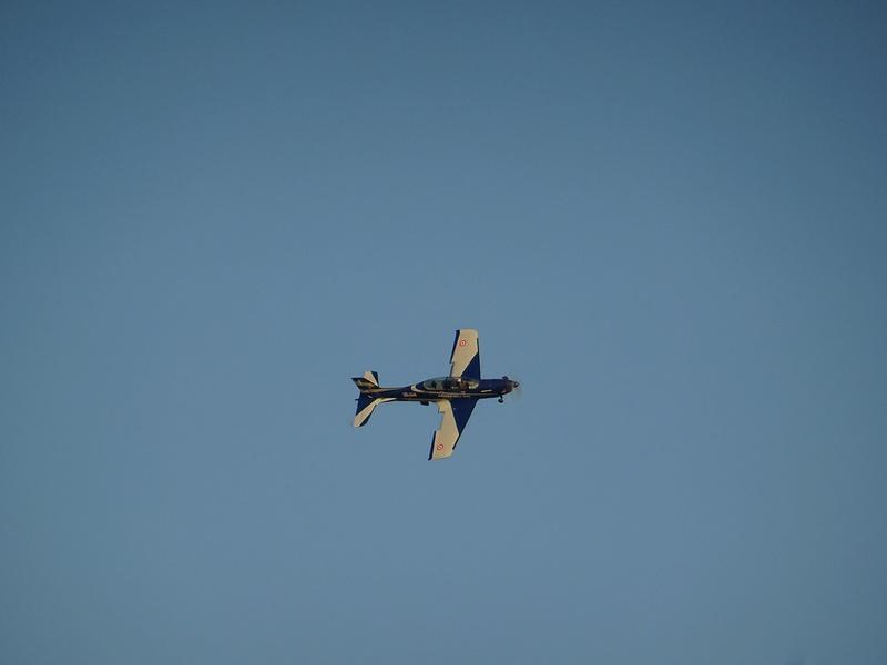 pc 21 en vol : vol presque de nuit ;-) , avec affichage tête haute  Dsc04610