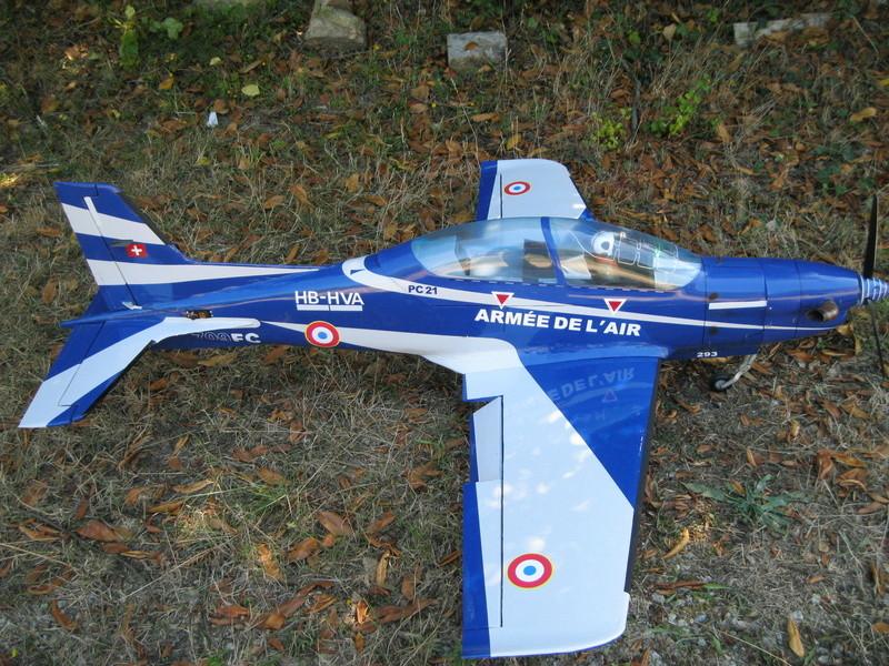 pilatus PC21 aux couleurs de l'armée de l'air  Img_2612