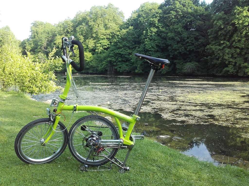Green Lime Alfine Brompton by Kinetics - Page 5 Photo313
