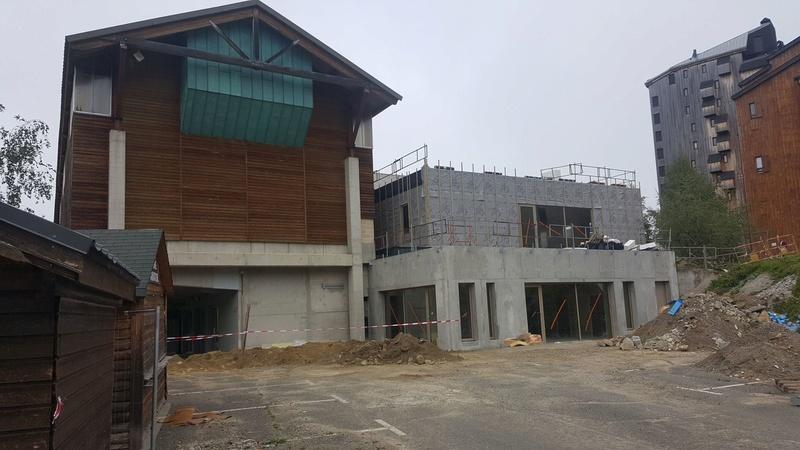 Construction télésièges fixes 4 places Savis et Bisorne (TSF4) 21740710