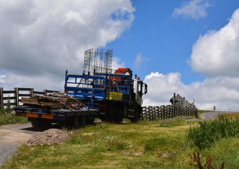 Construction télésiège fixe de la Combe - Chantiers Le Lioran 2017 Dsc_0131