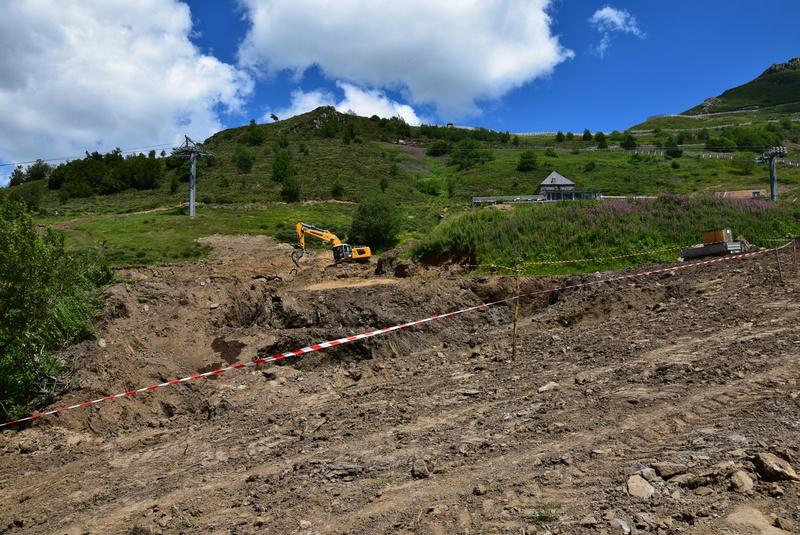 Construction télésiège fixe de la Combe - Chantiers Le Lioran 2017 Dsc_0215
