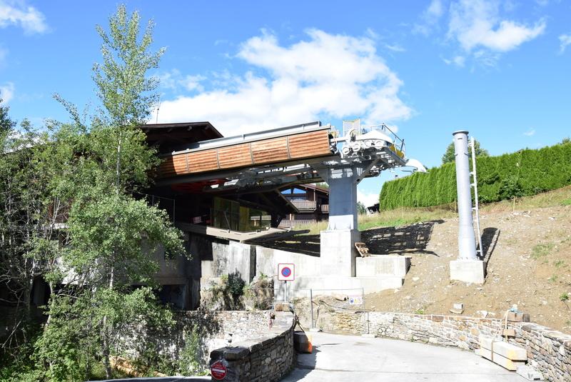 Rénovation de la télécabine débrayable 6 places (TCD6) du Chamois - Megeve Dsc_0341