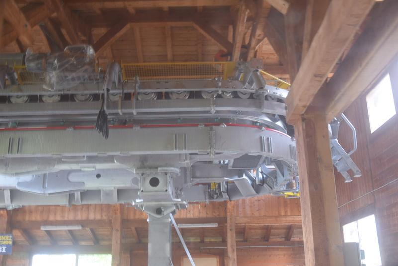 Rénovation de la télécabine débrayable 6 places (TCD6) du Chamois - Megeve Dsc_0345