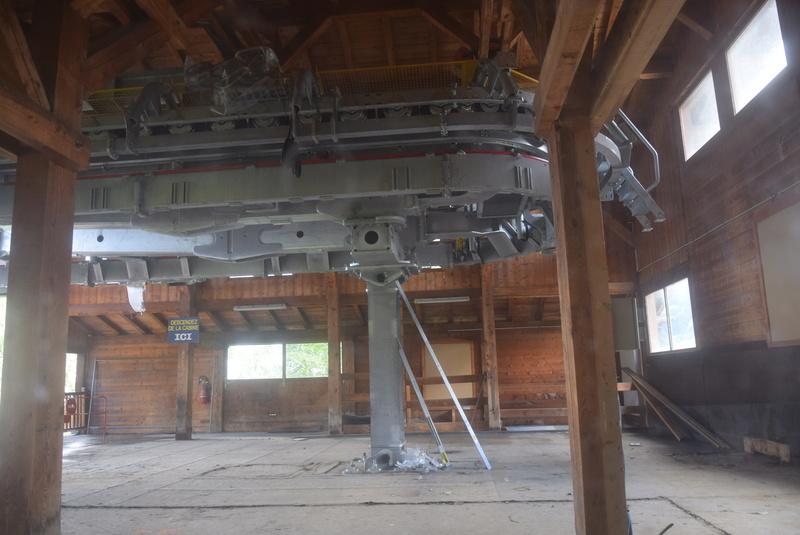 Rénovation de la télécabine débrayable 6 places (TCD6) du Chamois - Megeve Dsc_0423