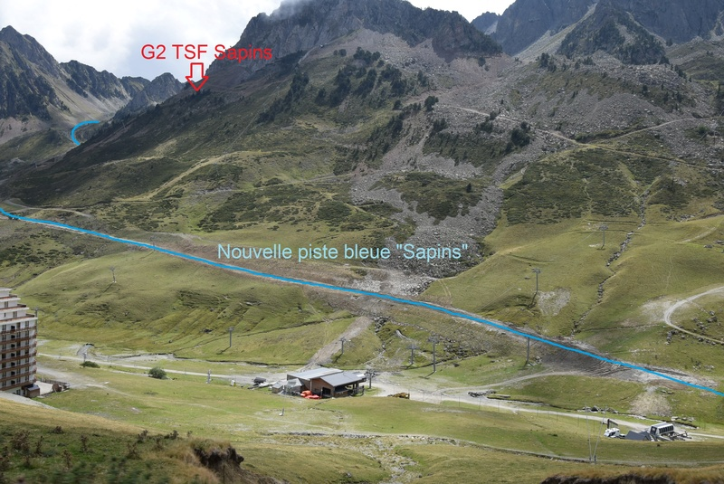 Construction télésiège 4 Termes et tapis roulants - La Mongie Dsc_1120