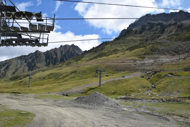 Construction télésiège 4 Termes et tapis roulants - La Mongie Dsc_1128