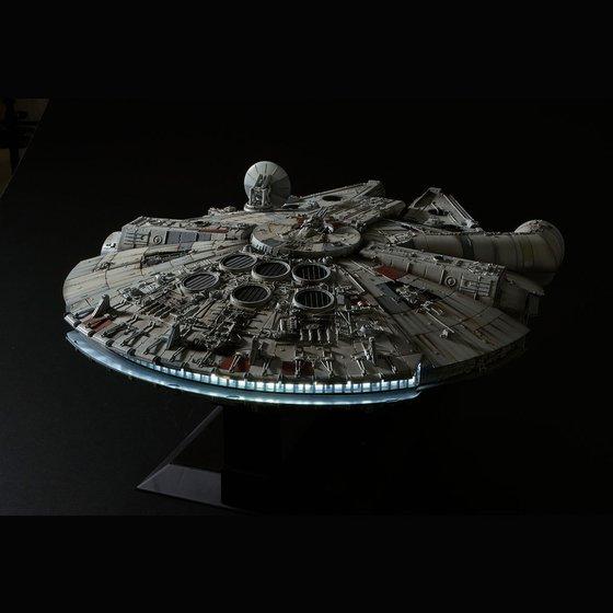 Star Wars - Millennium Falcon Plastic Kit Bandai Star_w10