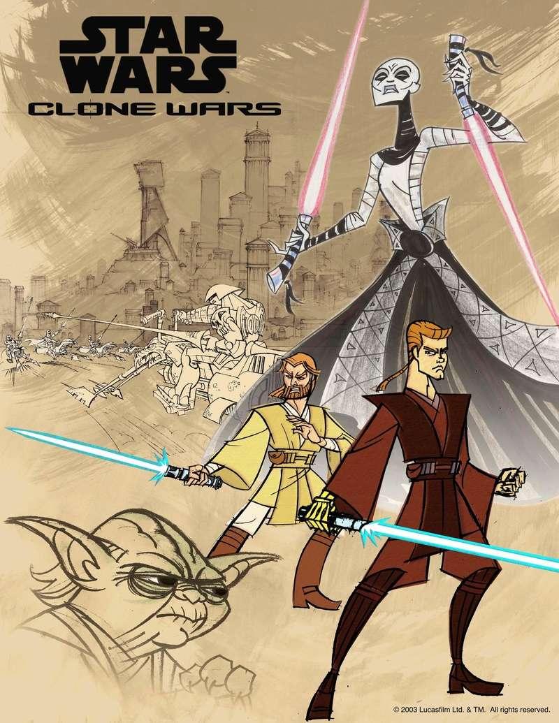 Star Wars: Clone Wars [Série animée] Star-w10