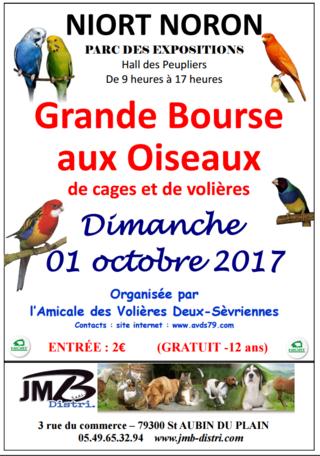 2 Octobre 2017 : Bourse à Niort (79) 72941210