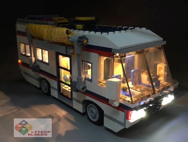 LEGO Vacation Getaways Light Kit Set 31052 Vg110
