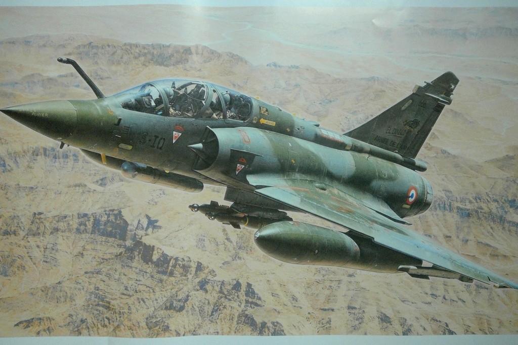 mirage 2000d Kandahar 1/48e Helle106