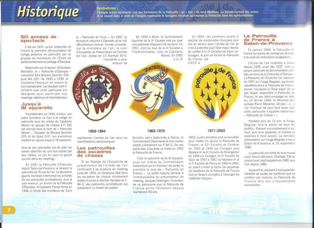 Patrouille de FRANCE 1/72ème Ref 52303 Notice Helle274