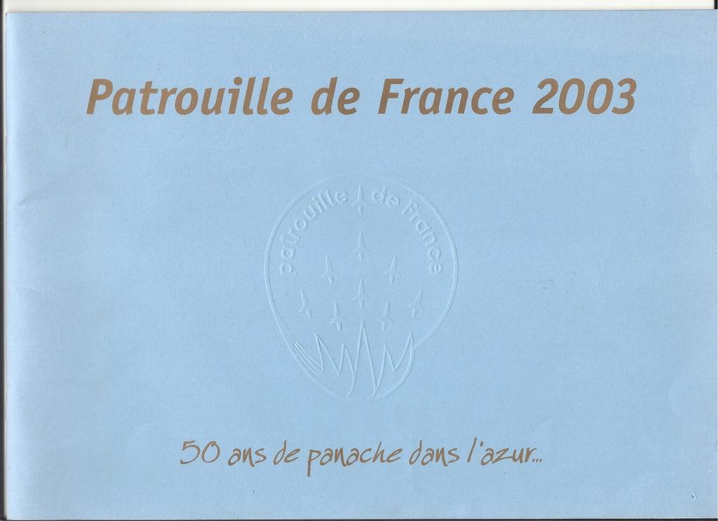 Patrouille de FRANCE 1/72ème Ref 52303 Notice Helle275