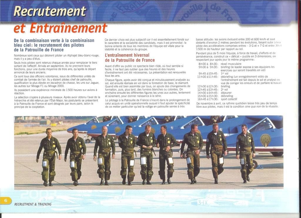 Patrouille de FRANCE 1/72ème Ref 52303 Notice Helle277