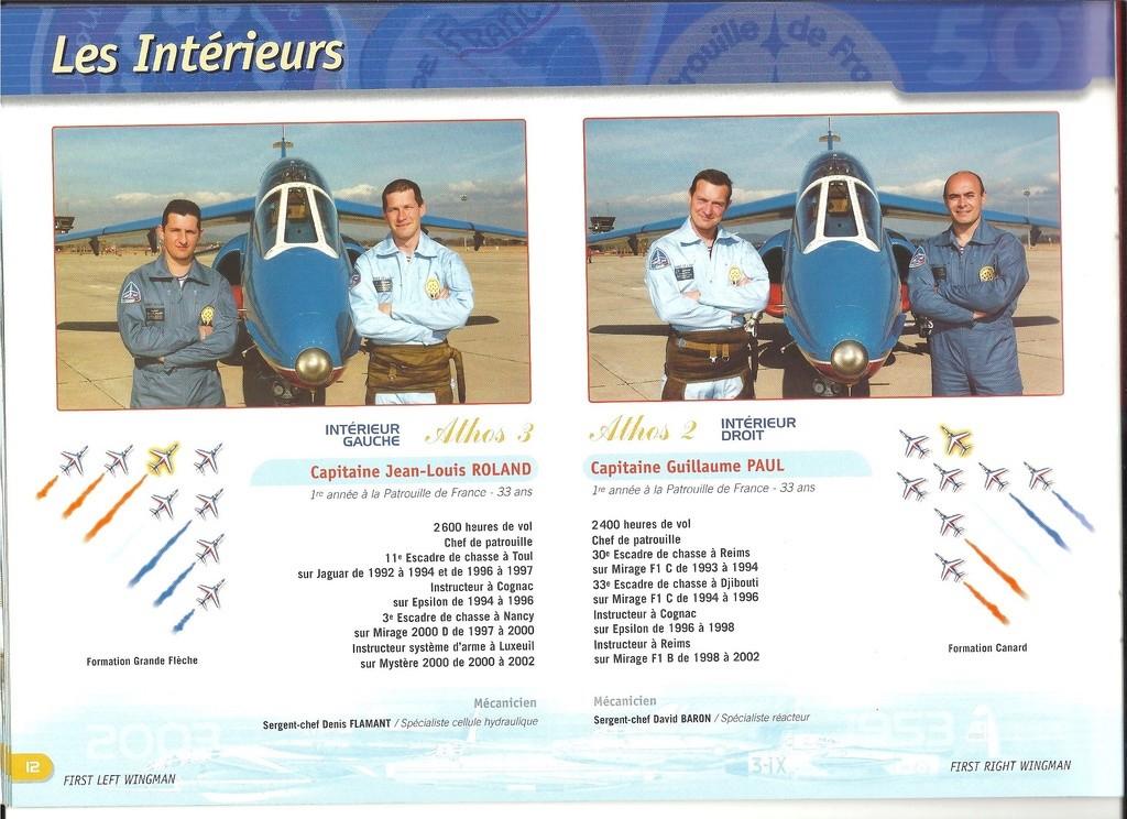 Patrouille de FRANCE 1/72ème Ref 52303 Notice Helle280