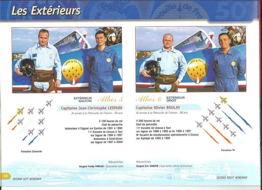 Patrouille de FRANCE 1/72ème Ref 52303 Notice Helle281
