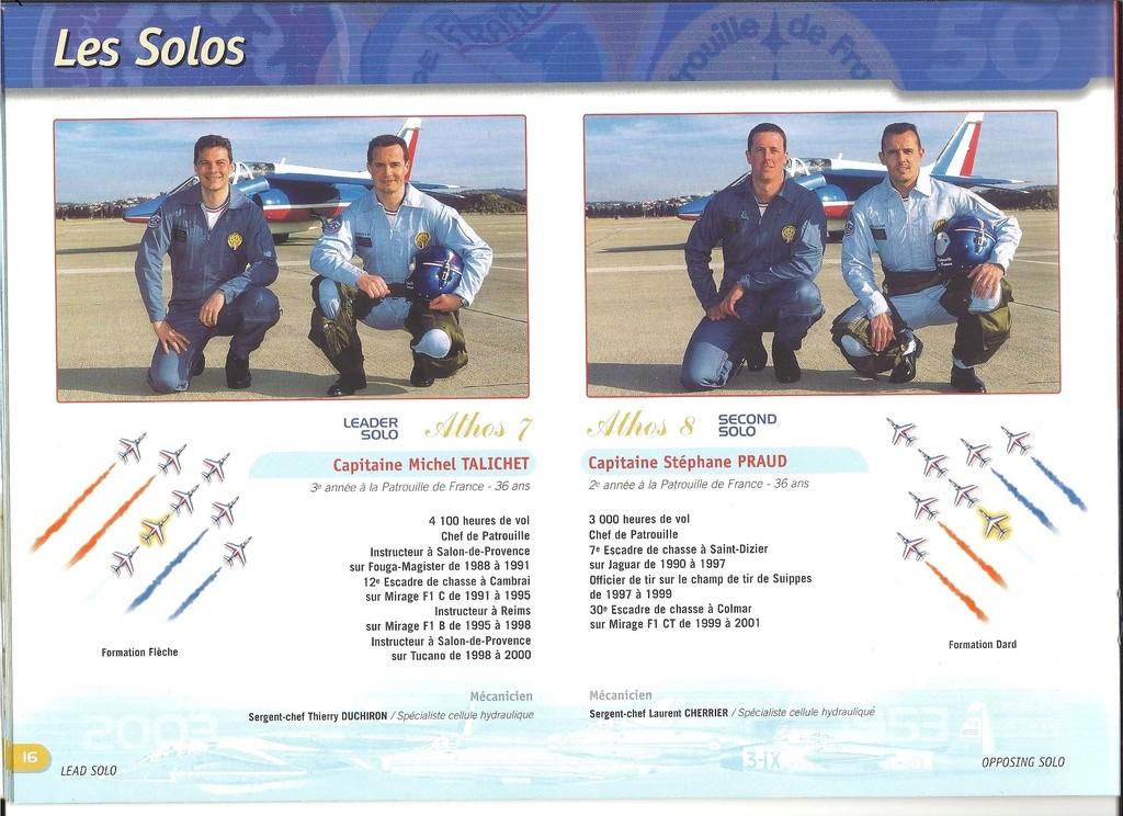 Patrouille de FRANCE 1/72ème Ref 52303 Notice Helle282