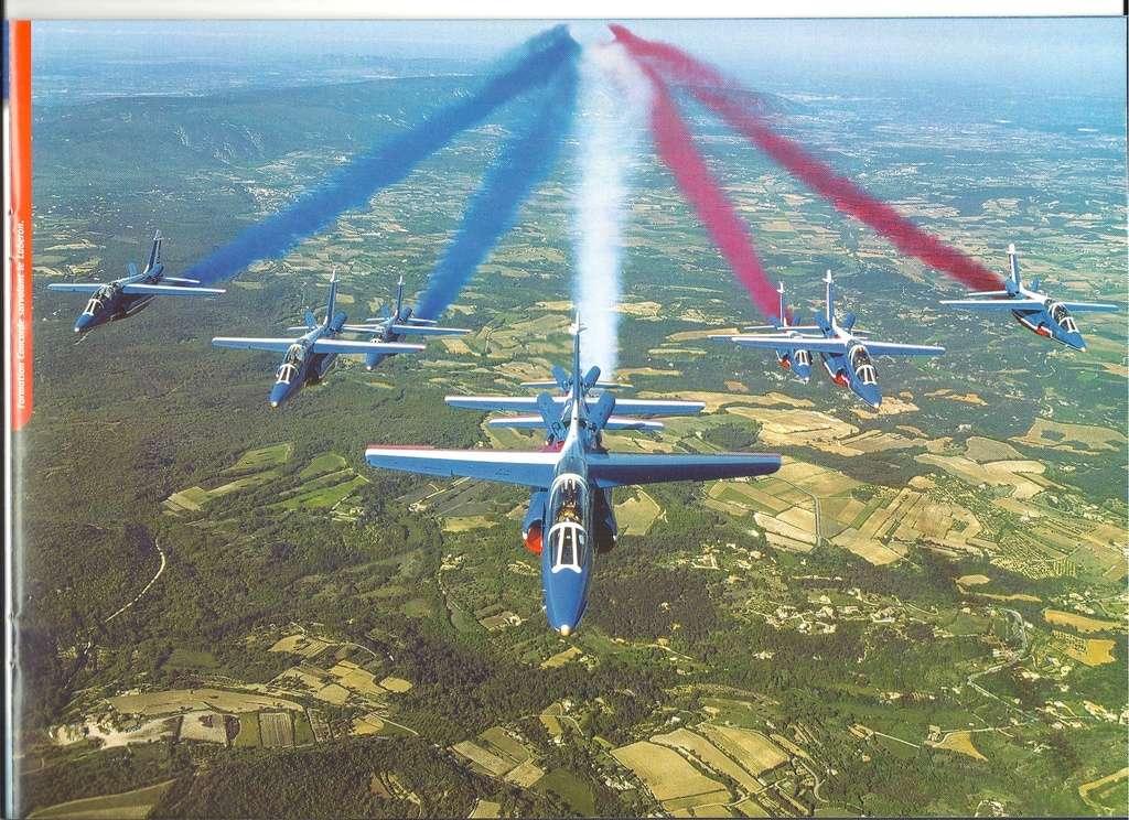 Patrouille de FRANCE 1/72ème Ref 52303 Notice Helle283