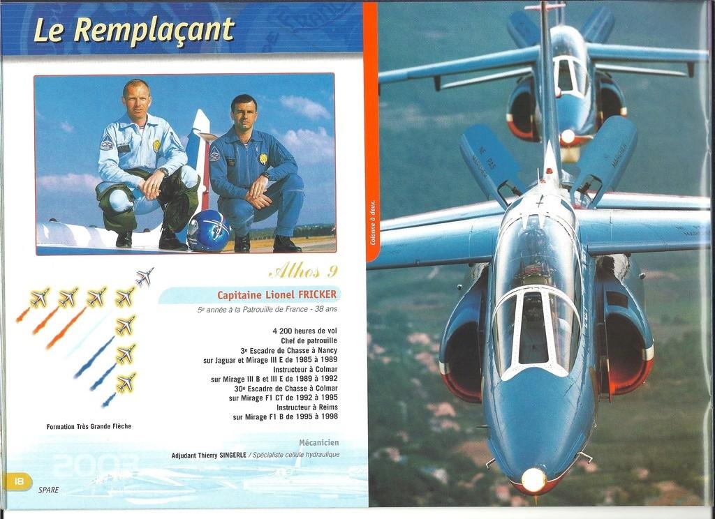 Patrouille de FRANCE 1/72ème Ref 52303 Notice Helle285