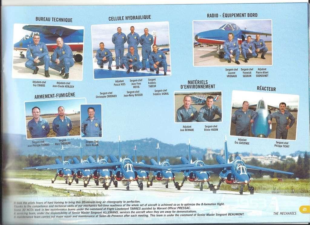 Patrouille de FRANCE 1/72ème Ref 52303 Notice Helle296