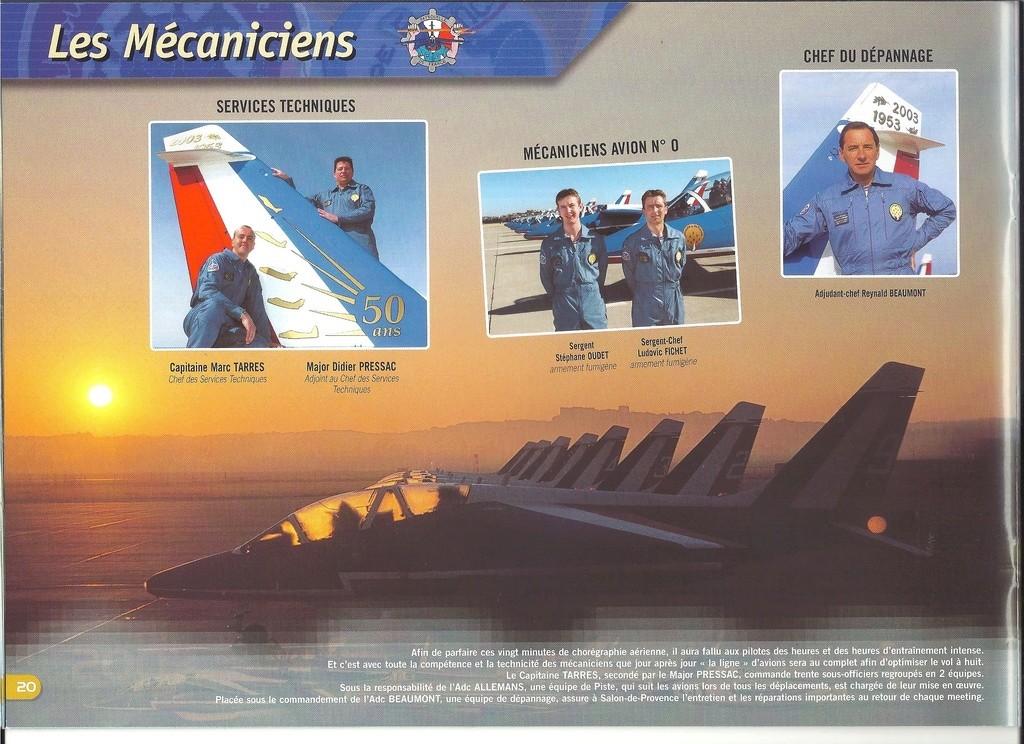 Patrouille de FRANCE 1/72ème Ref 52303 Notice Helle298