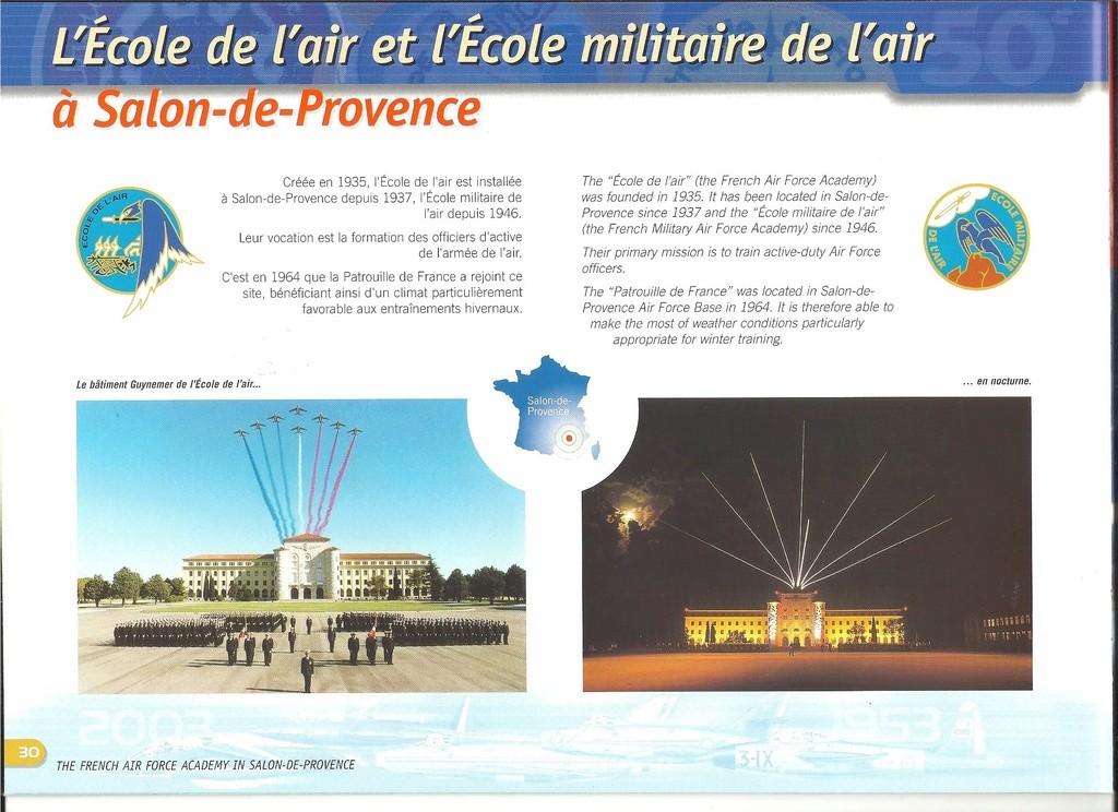 Patrouille de FRANCE 1/72ème Ref 52303 Notice Helle302