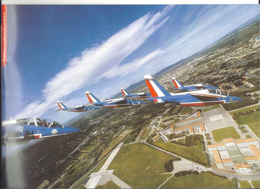 Patrouille de FRANCE 1/72ème Ref 52303 Notice Helle310