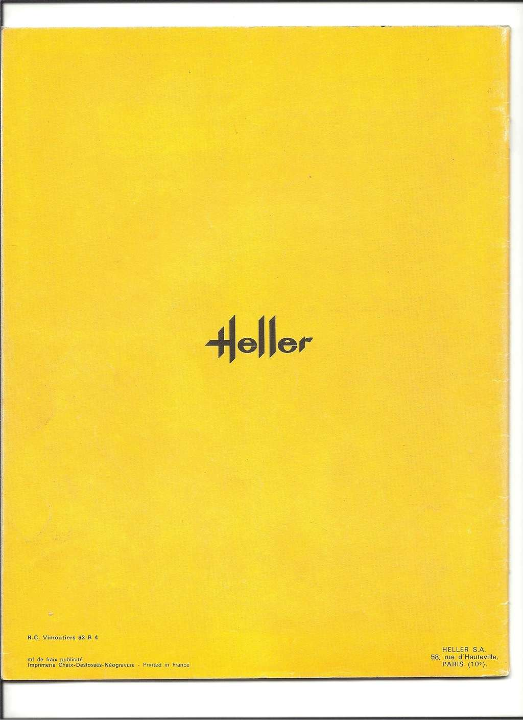 [1971] Catalogue 1971 Heller91