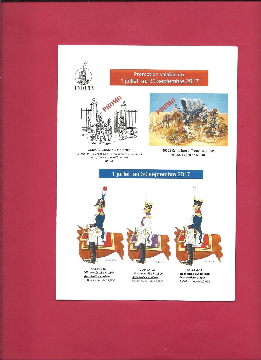 HISTOREX Fiche nouveautés Juillet, Août & Septembre 2017  Histor11