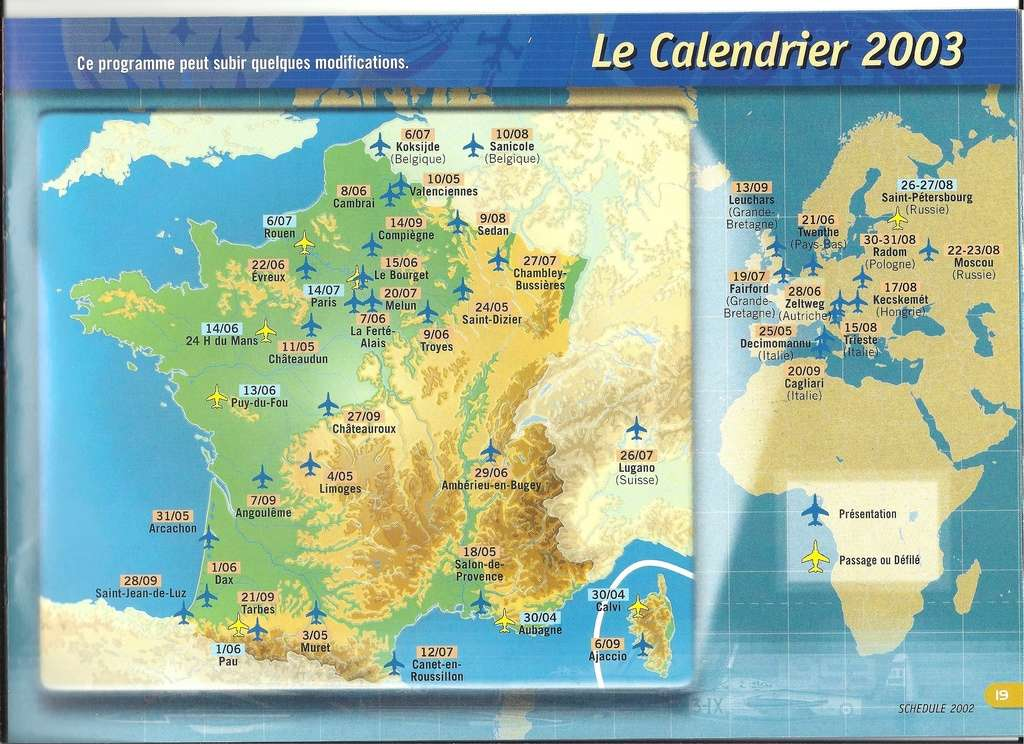 Patrouille de FRANCE 1/72ème Ref 52303 Notice Numyri27