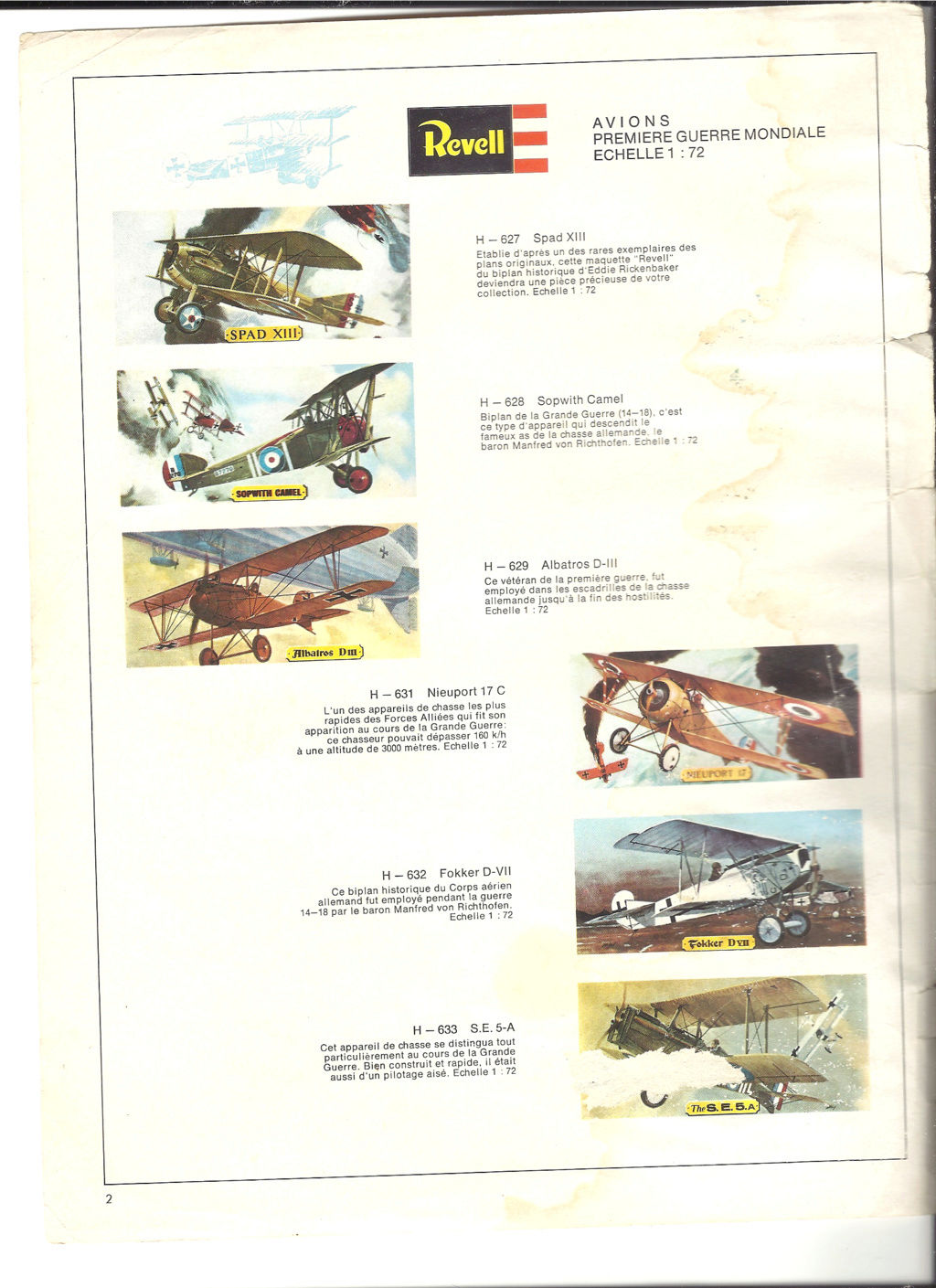 1970 - [REVELL 1970] Catalogue 1970 Revell21
